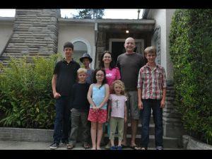 John, Frauke, Muriel, Madeleine, et les piafs